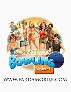 بازی بولینگ Party Island Bowling 2 in 1 برای موبایل